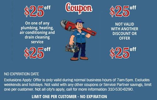25 Off Repair Coupon