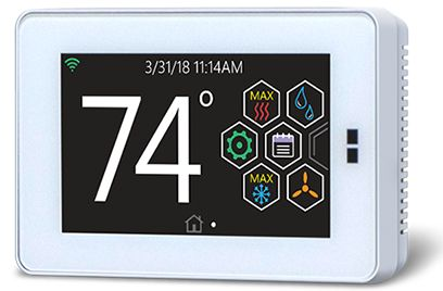 Hx3™ Touch-screen Communicating Thermostat