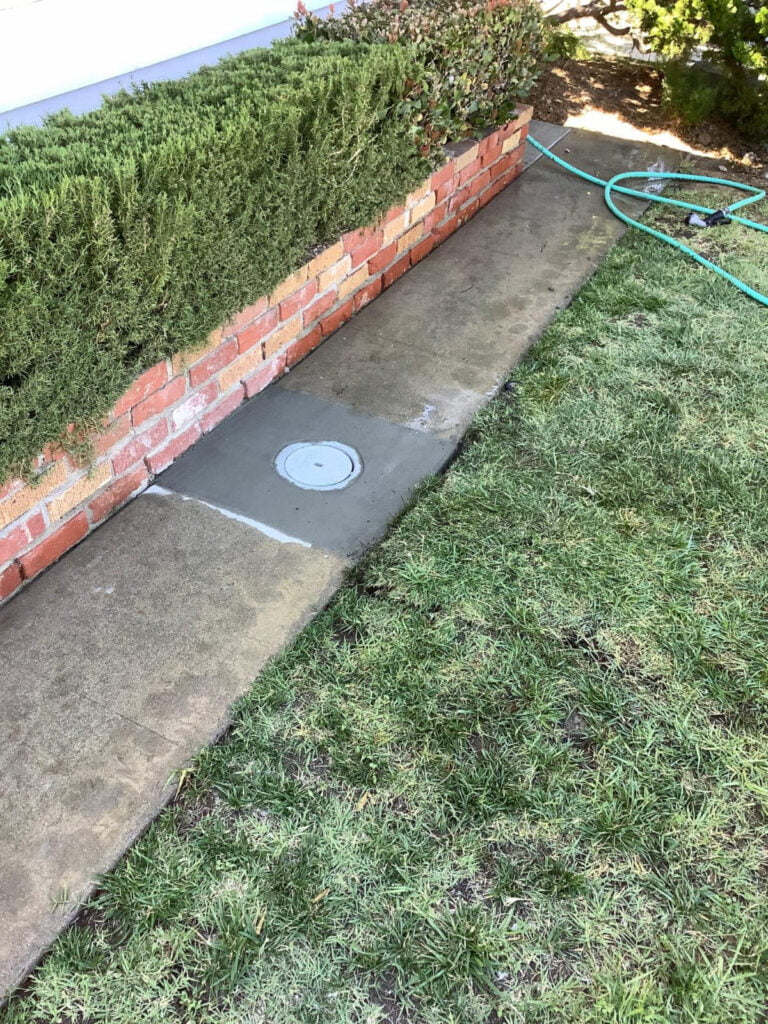 Drain Covered